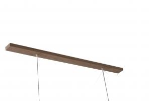 Suspension rectangulaire 120 cm fixation en bois