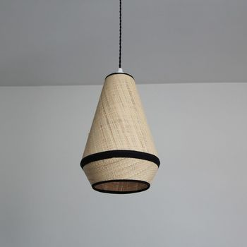 Suspension  Raphia collection VIENNE