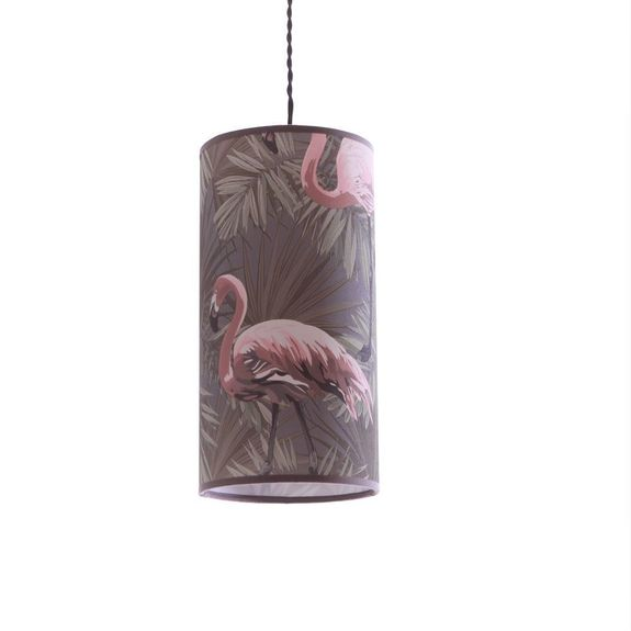 Suspension tube  collection flamand rose