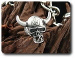 Rotating Niu Devil Death Skeleton Men Ring