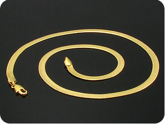 Exotic Link Pattern Quality Gold Men Style Necklace