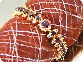 29x4~8mm Purple Amethysts Bracelet