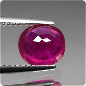 1.93ct APPEALING OVAL NATURAL RICH RED RUBY MADAGASCAR