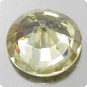 LUSTROUS! 1.87CT. YELLOW NATURAL ZIRCON RD CAMBODIAN