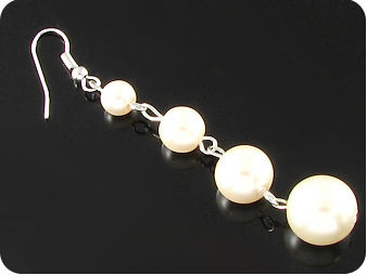 8x10~5mm Pearl  Earrings