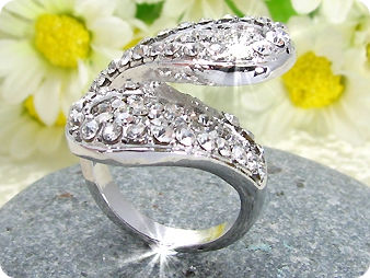 Created Diamond Ring