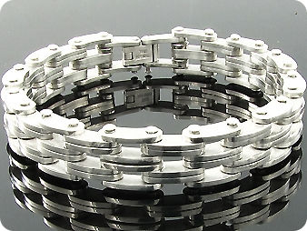 Motor Bike Chain HALLMARK Men Bracelet