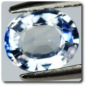 0.71 Ct. Beautiful Natural Oval Blue Sapphire