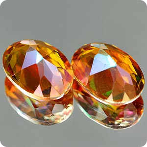 1.79 Ct. Matching Pair Natural Azotic Topaz IF