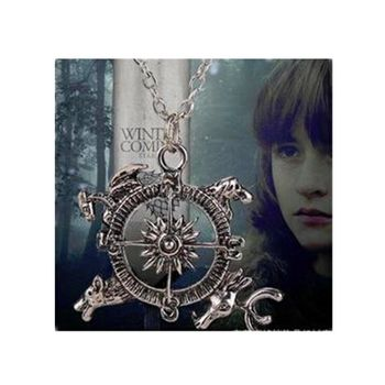 Pendentif Collier Game Of Thrones Compass Song of ice