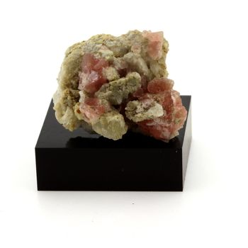 Fluorite rose Calcite. 59.1 cts.