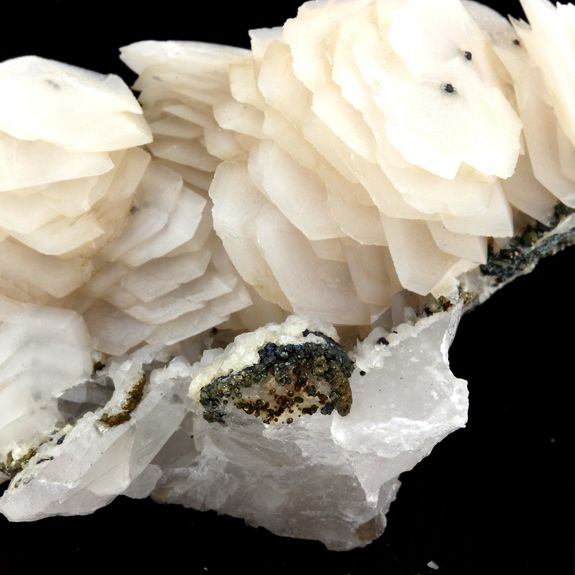 Calcite on Quartz.