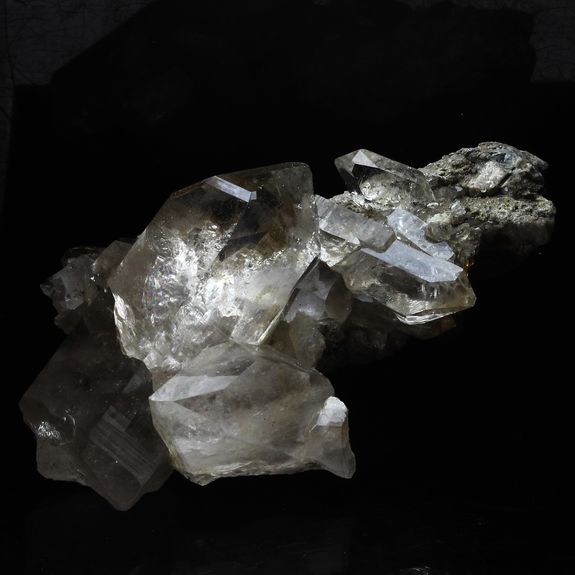 Quartz fumé. 333.7 ct.