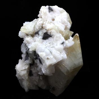 Calcite + Dolomite. 282.0 ct.