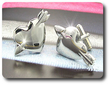 Heart & Arrow Love Cufflink