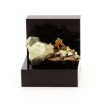 Siderite, Quartz, Pyrite. 52.76 ct.