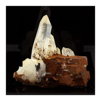 Quartz, Siderite. 422.1 ct.