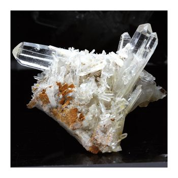 Quartz, Siderite. 223.9 ct.