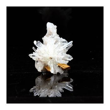 Quartz, Siderite. 77.9 ct.