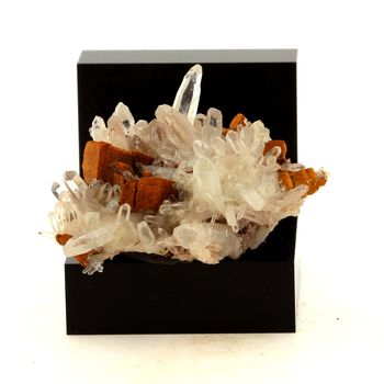 Quartz, Siderite. 44.6 ct.