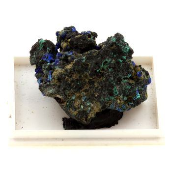 Azurite + Malachite. 122.7 ct.