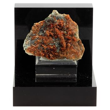 Hessonite garnet.