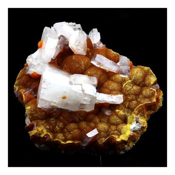 Baryte, Orpiment. 1126.0 ct.