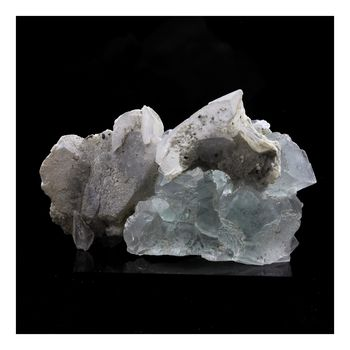 Fluorite + Calcite. 185.0 ct.