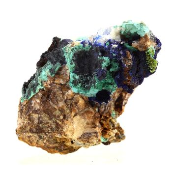 Azurite + Malachite. 300.0 ct.