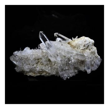 Quartz + Baryte. 244.0 ct.