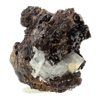 Zinkenite, Siderite, Calcite.