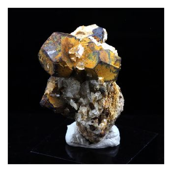 Pyrite + Calcite + Dolomite. 46.0 ct.