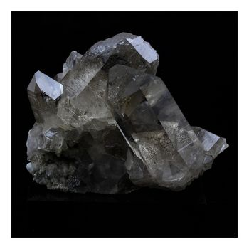 Quartz fumé. 464.0 ct.