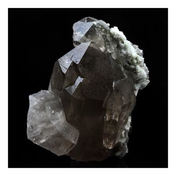 Quartz fumé. 789.0 ct.