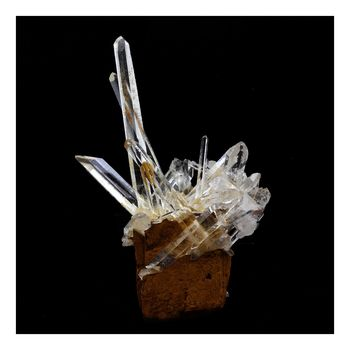 Quartz + Siderite. 29.0 ct.