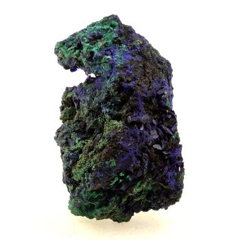 Azurite + Malachite. 388.0 ct.