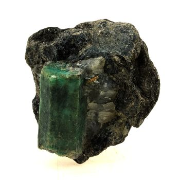 Emerald + Phlogopite. 373.0 ct.