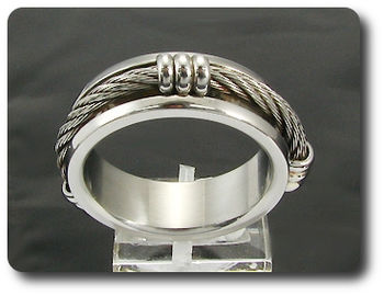 2massive Wiring Link Pattern Designer Brand Men Ring