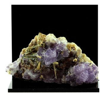 Fluorite + Stibiconite. 625.5 ct.