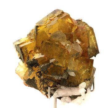Fluorite, Calcite, Pyrite. 1374.5 ct.