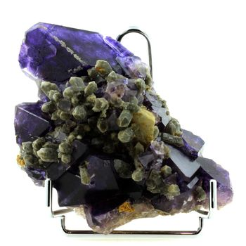 Fluorite, Quartz, Calcite. 7224.0 ct. (1,4 kg)