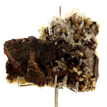 Siderite, Quartz , Pyrite. 1329.0 ct.