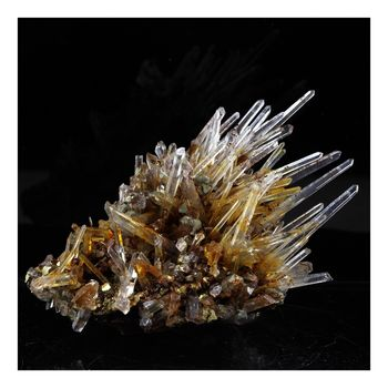 Siderite, Quartz , Pyrite. 215.0 ct.