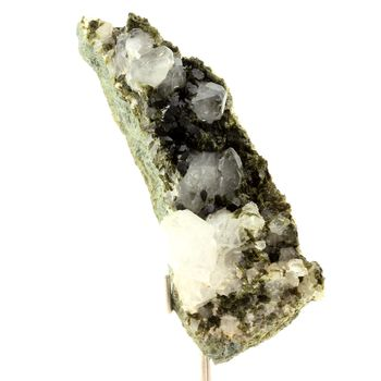 Quartz + Epidote. 772.0 ct.