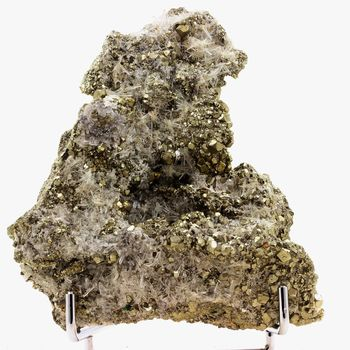Pyrite + Quartz. 7339.0 ct.