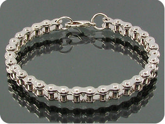 Tiny Troop Tank Style Bicycle Stainless Steel Chain