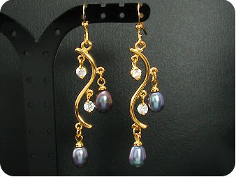 4x8mm Pearl  Earrings