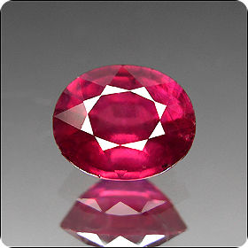 2.65ct DAZZLING OVAL NATURAL RICH RED RUBY MADAGASCAR