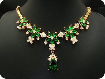COLLIER EMERAUDE