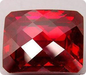 49.65ct RUSSIAN LAB - RED RUBY